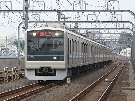 【ダイヤ改正で消滅!】RAPID EXP.表示の快速急行 藤沢行き3000形