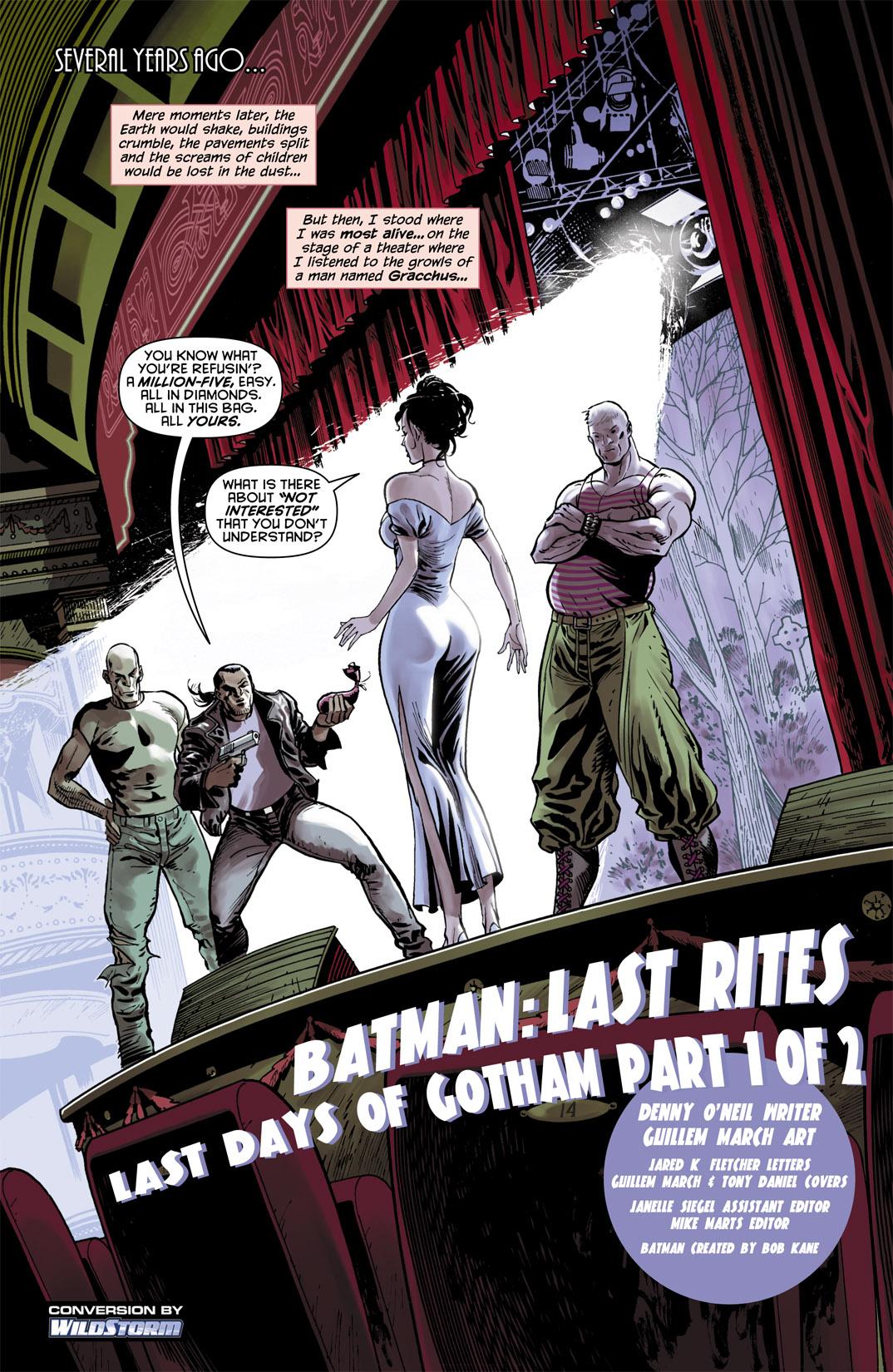 Detective Comics (1937) 851 Page 1