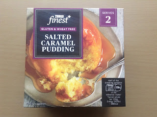 Tesco Finest Gluten Free Salted Caramel Pudding