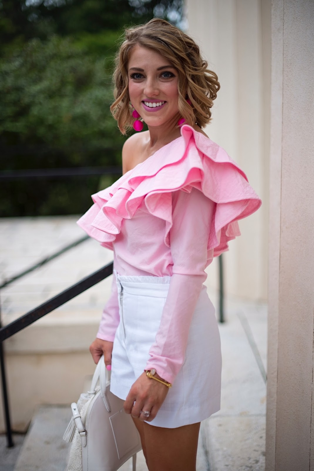 Ruffle Style - Click through to see more on Something Delightful Blog!