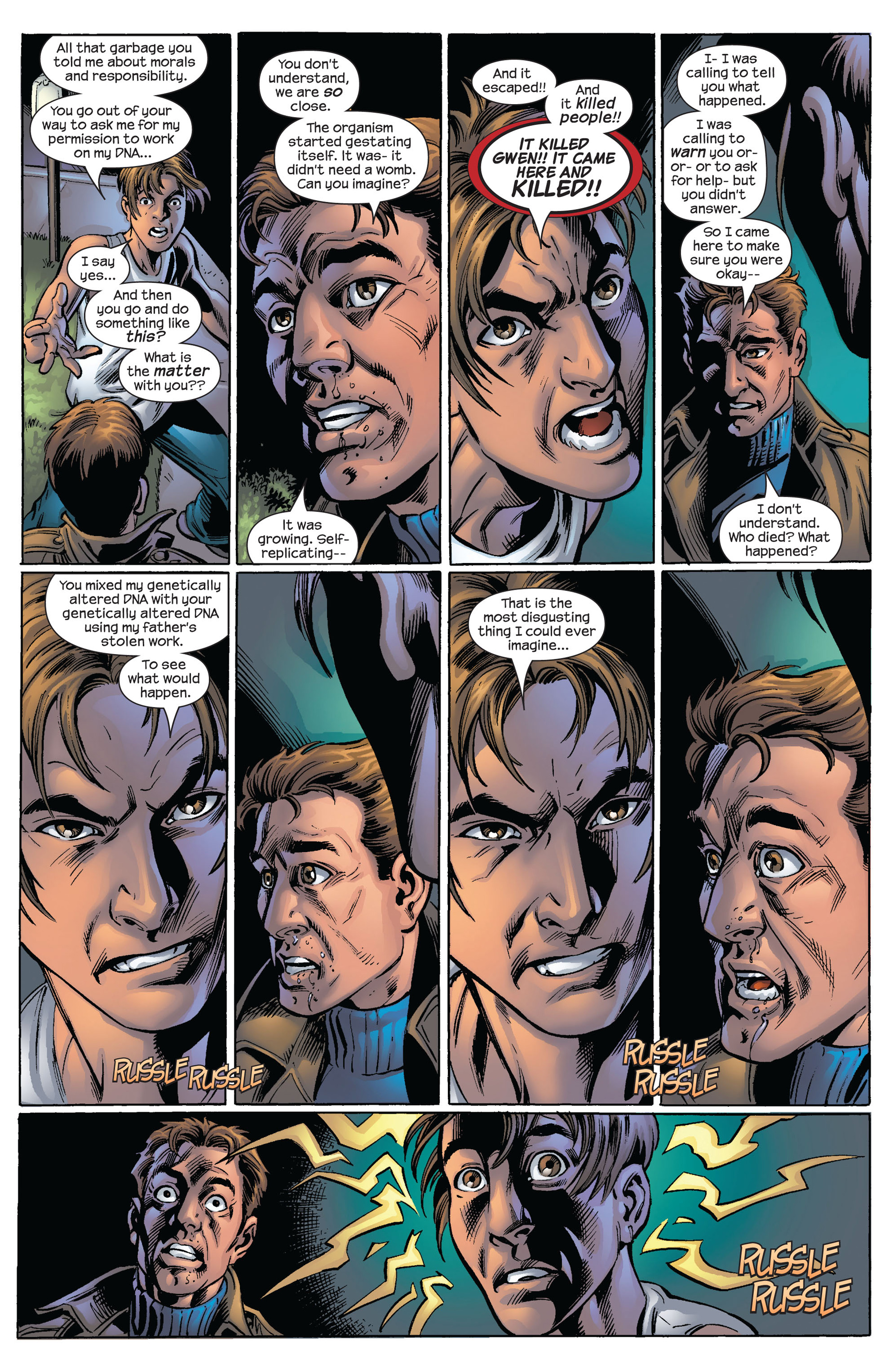 Read online Ultimate Spider-Man (2000) comic -  Issue #63 - 19