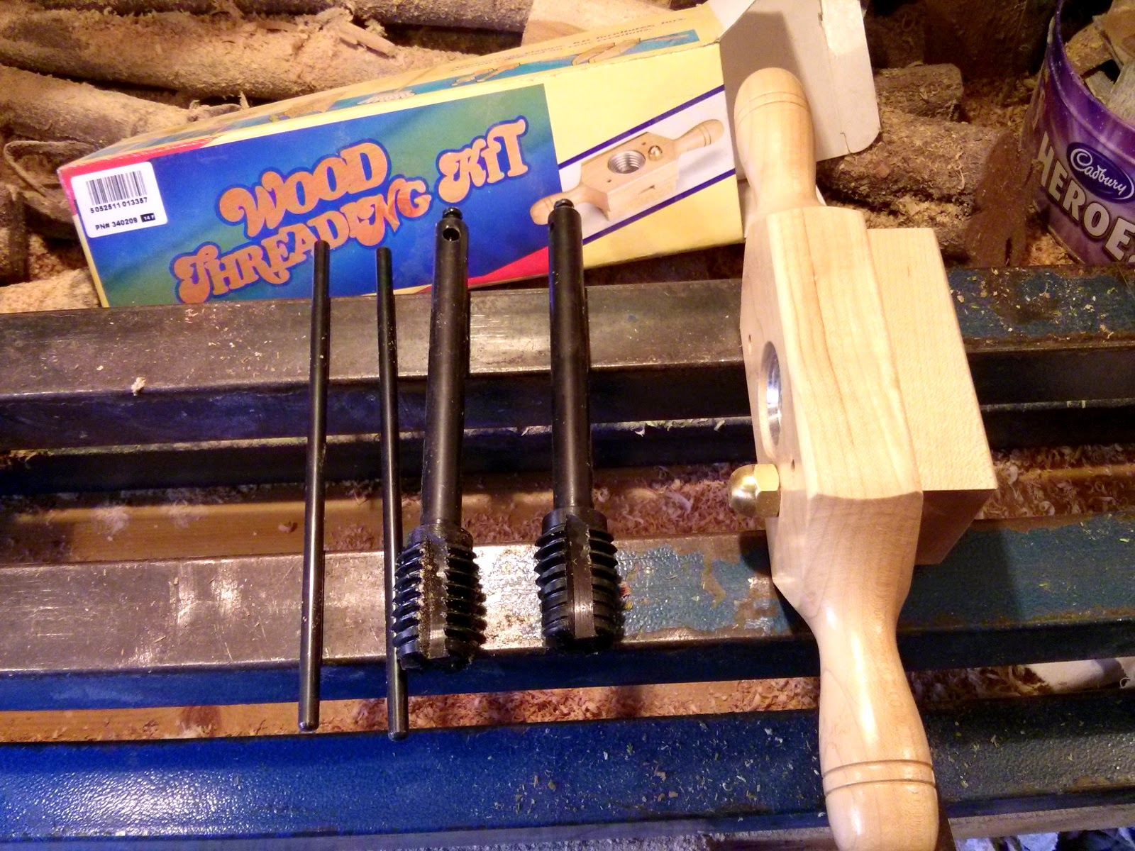 The Shed And Beyond Wood Threading Kit