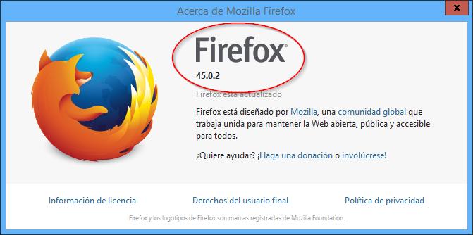 descargar mozilla firefox 45.0.2