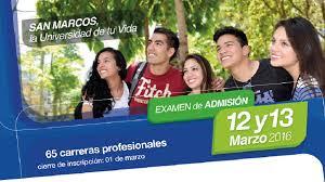 Solucionario examen de admisión San Marcos UNMSM 2016 - II sábado 12 de marzo bloque ADF áreas