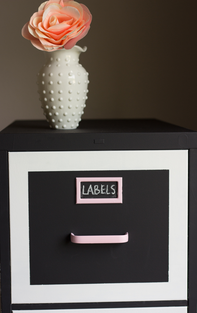Chalkboard Paint Ideas. Would You Believe The File Cabinet ...