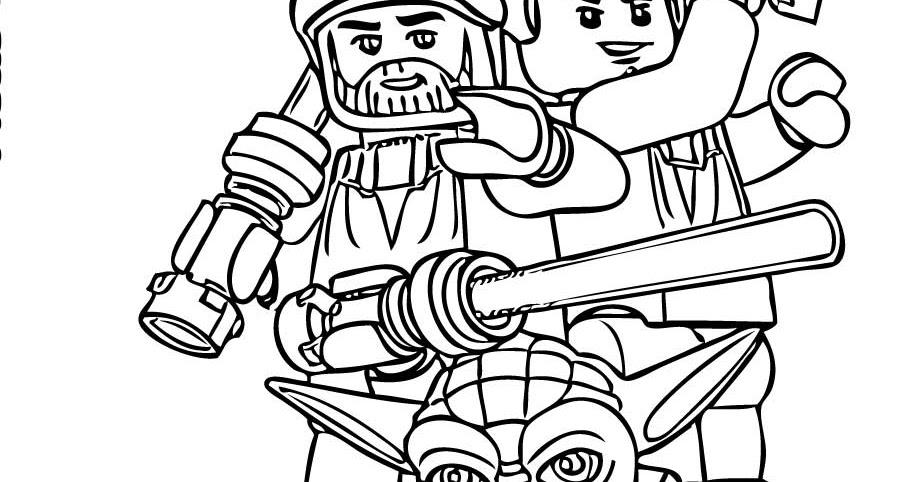 Lego Star Wars Coloring Page Eskayalitim