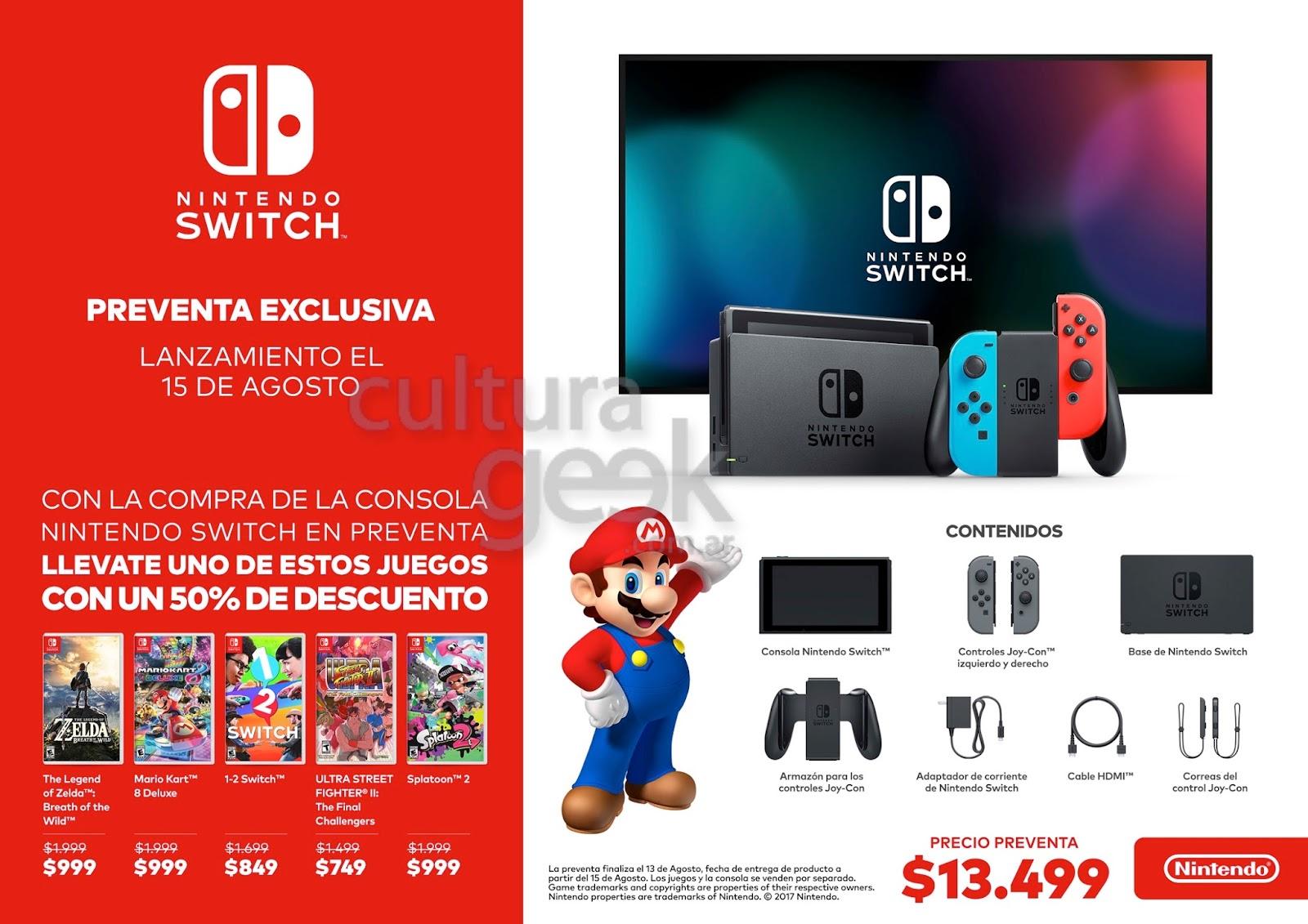 Nintendo Switch aproxima-se da marca de 5 milhões de unidades vendidas