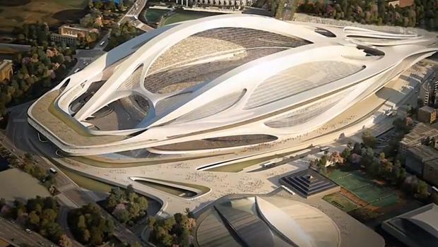 Japón para la construcción de su estadio olímpico
