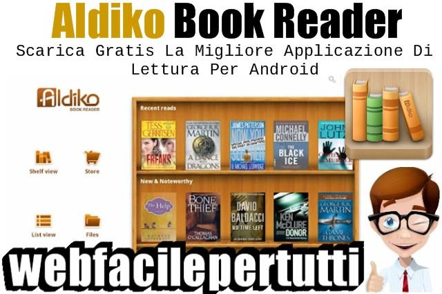 Aldiko Book Reader App | Scarica Gratis La Migliore Applicazione Di Lettura Per Android