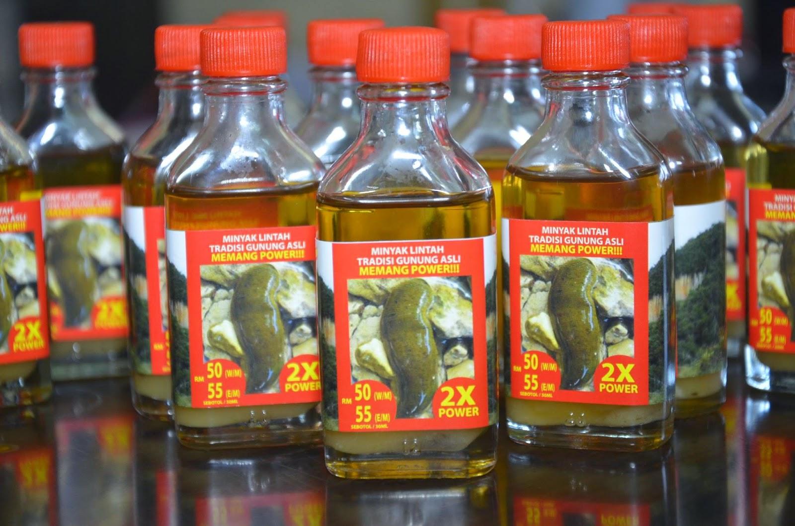 pembekal utama pati minyak lintah gunung asli mltga oil
