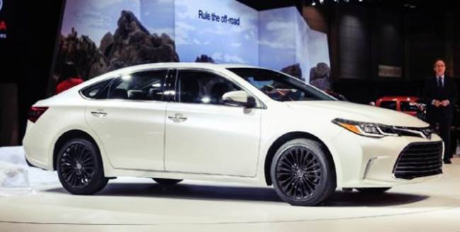 2016 Toyota Camry Special Edition Release Date