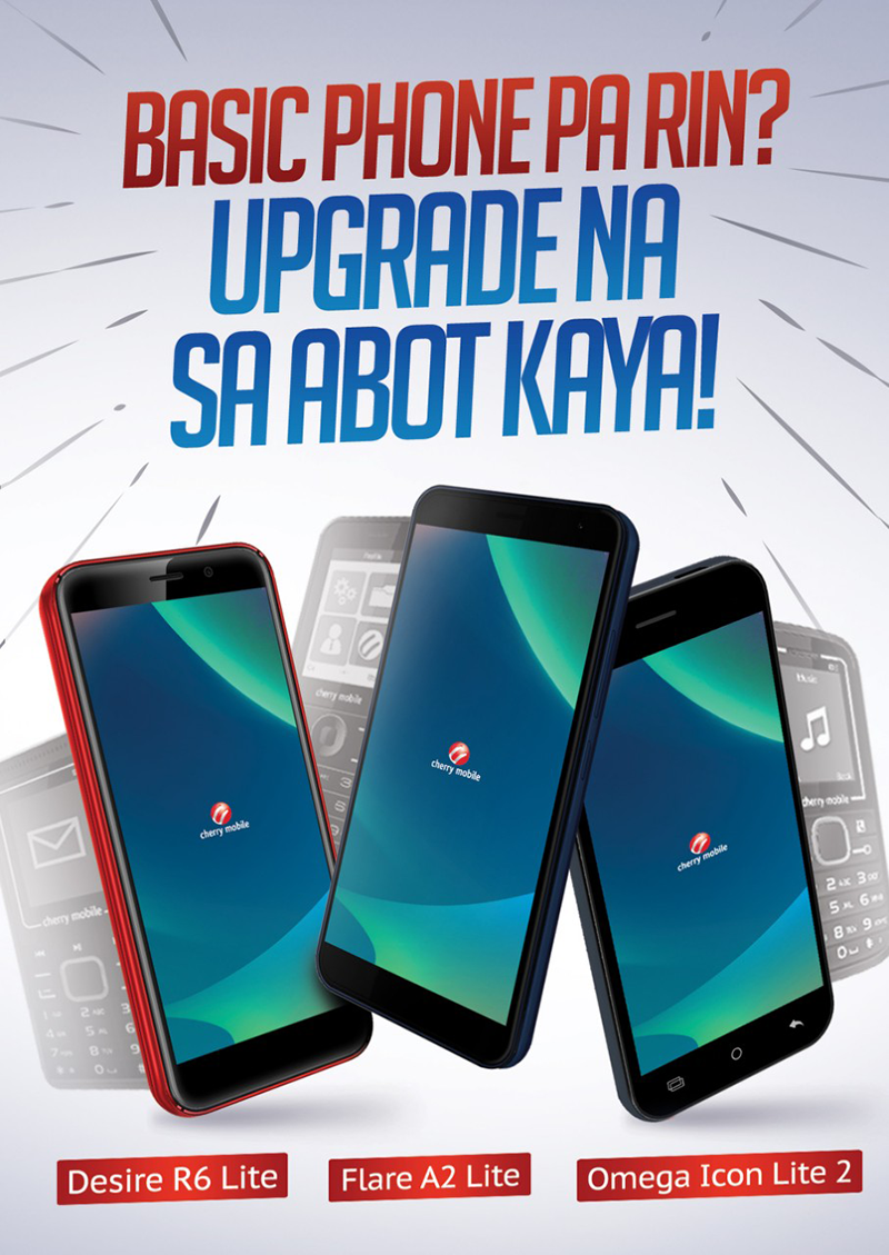 Cherry Mobile encourages basic phone users to upgrade to smartphone for just PHP 2,499