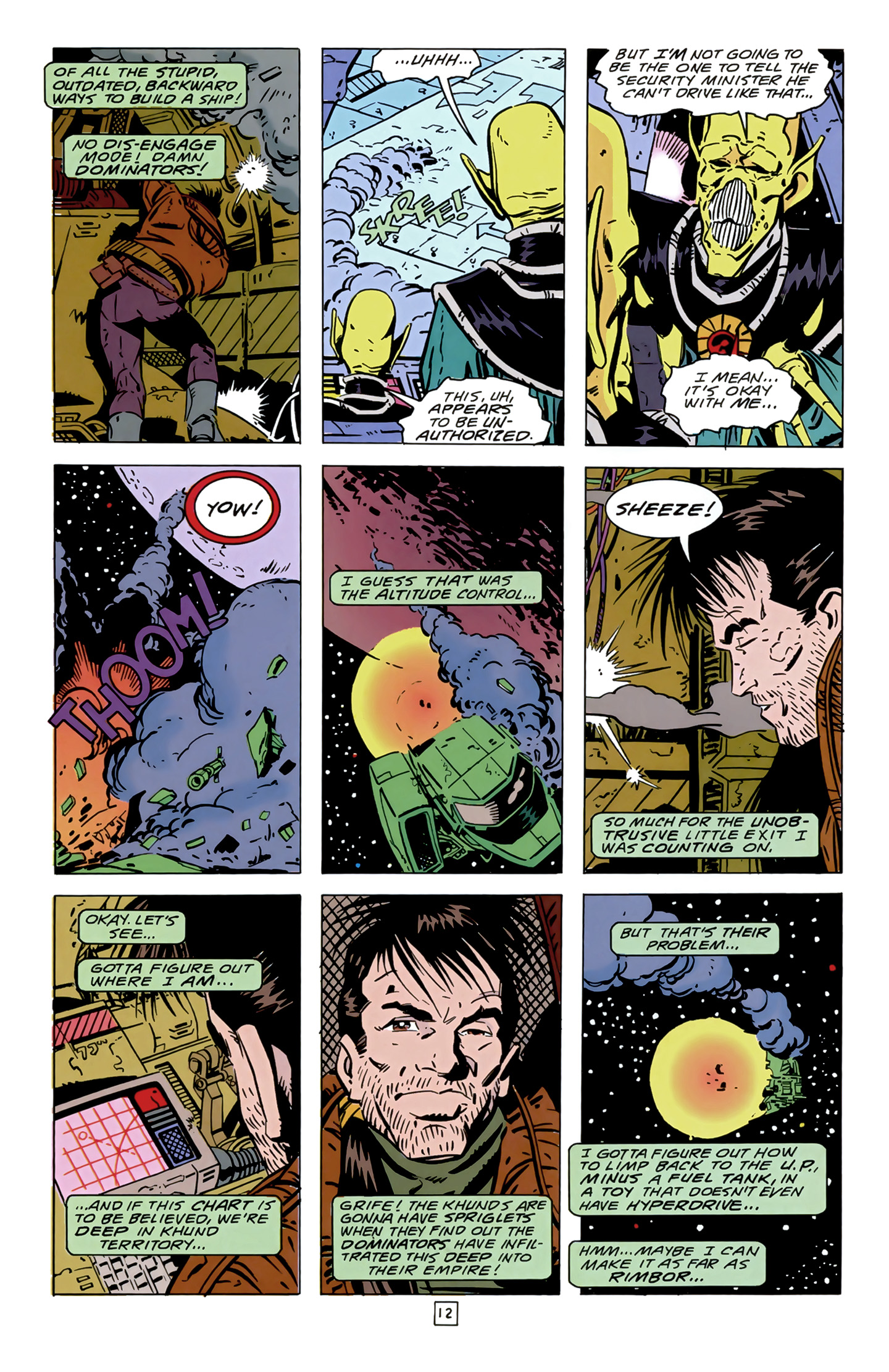 Legion of Super-Heroes (1989) 14 Page 12