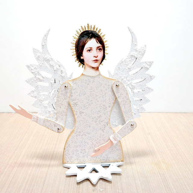 How to Assemble a Masonite Doll with Wings by Dana Tatar