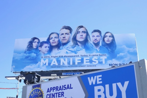 Manifest cut-out extension billboard