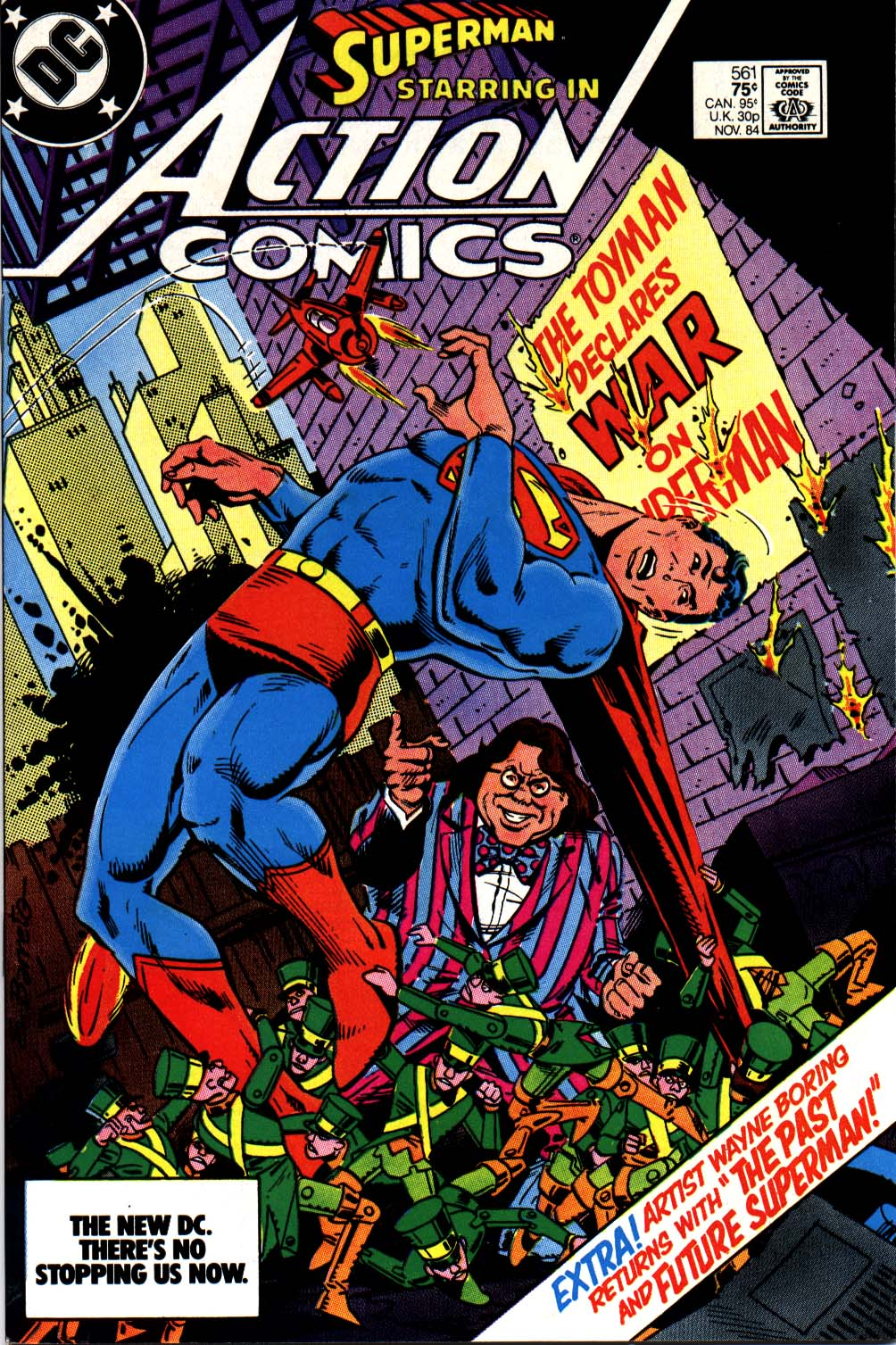 Read online Action Comics (1938) comic -  Issue #561 - 1