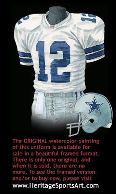 Dallas Cowboys 2005 uniform