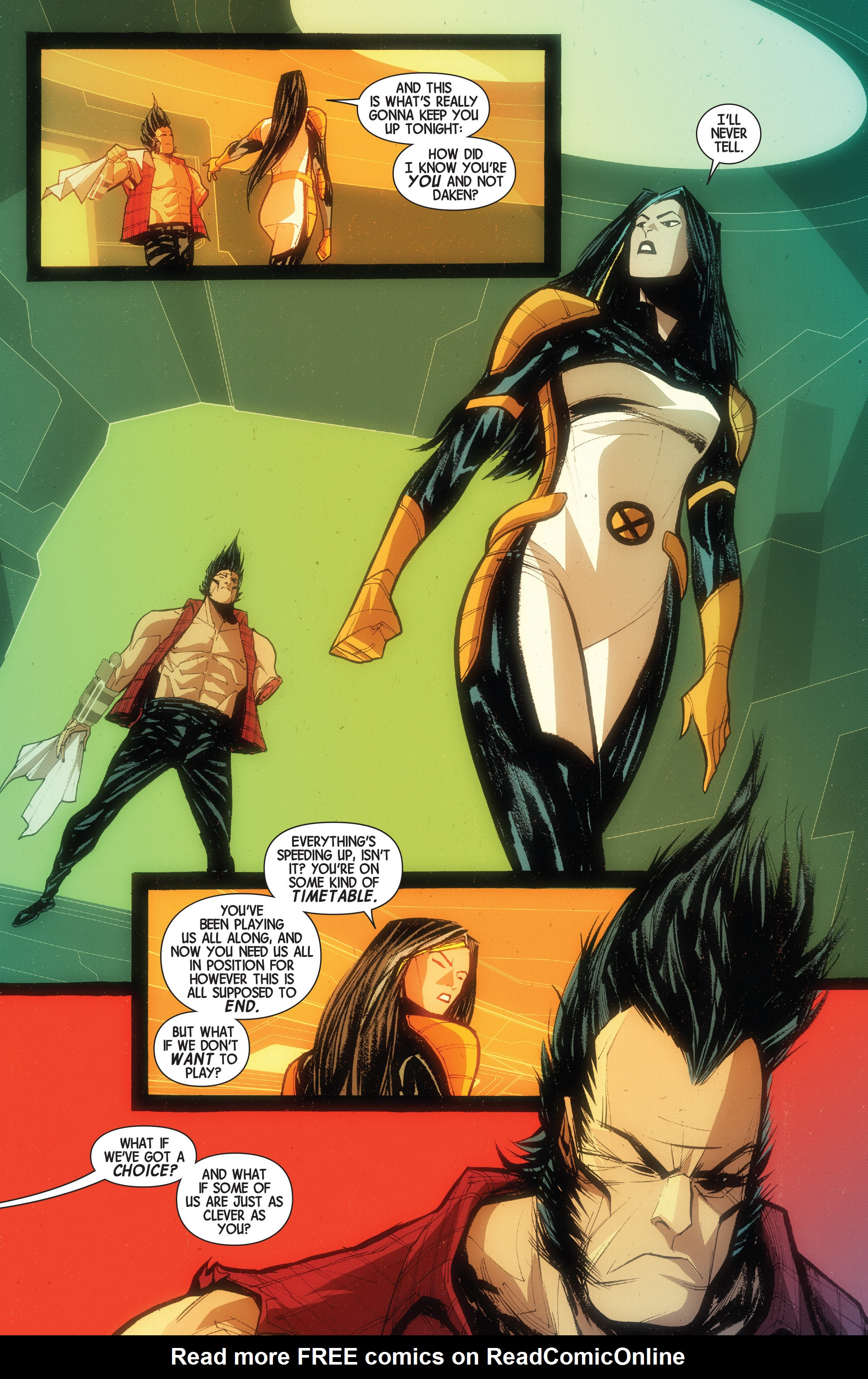 Read online Wolverines comic -  Issue #15 - 21