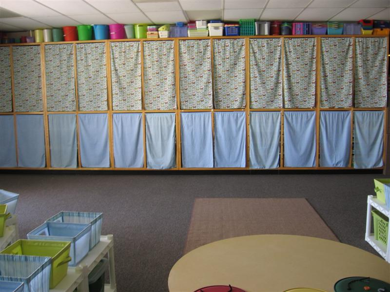 Classroom Walls Tip #4 {cover open shelving} | Clutter ...
