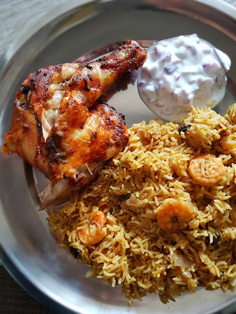 Shrimp Briyani