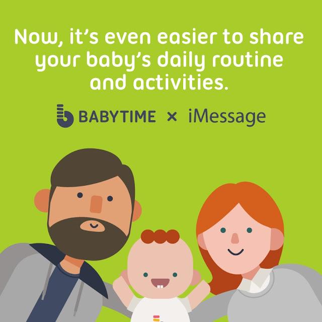 BabyTime app update