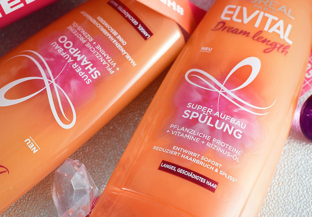 Elvital Dream Length Shampoo, Elvital Dream Length Spülung, Review