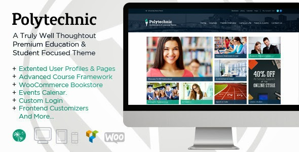 Responsive College WP Theme