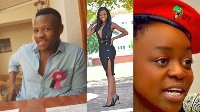 Pictures of EFF Student Sihle Maphumulo who raped Khensani Maseko of Rhodes University who later committed suicide