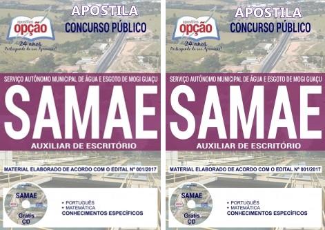Apostila SAMAE Mogi Guaçu - Auxiliar de Escritório