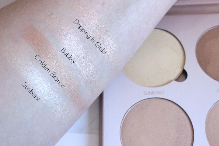 Anastasia Beverly Hills Glow Kit | That Glow Swatches