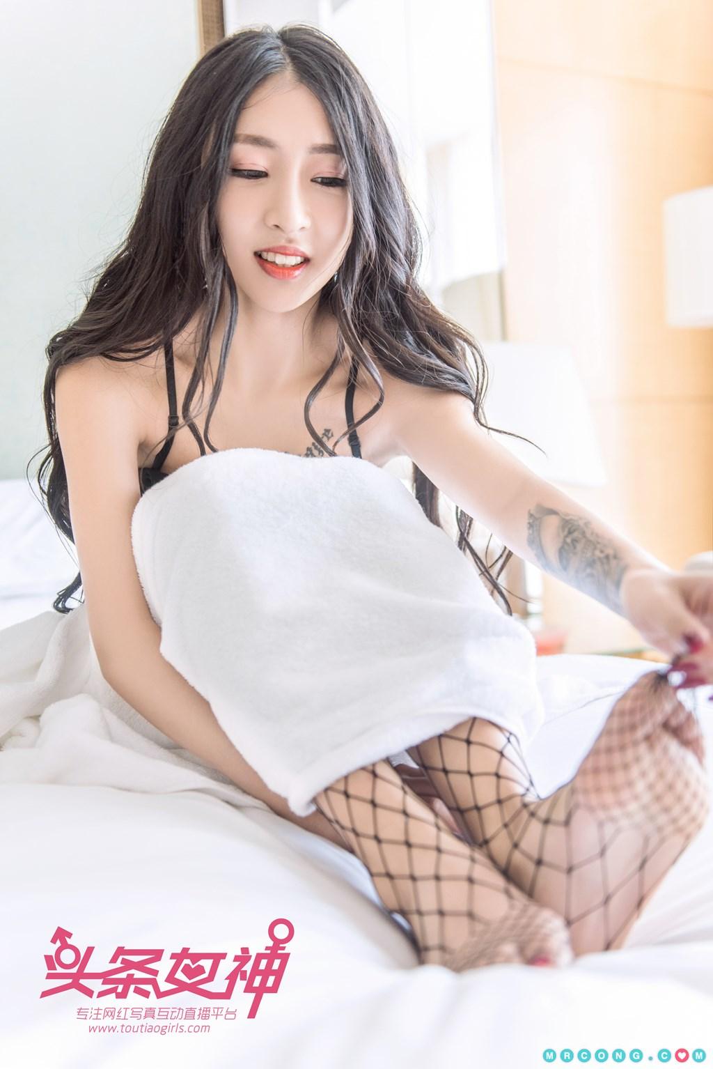 Image TouTiao-2017-10-05-Ru-Yi-MrCong.com-006 in post TouTiao 2017-10-05: Người mẫu Ru Yi (如意) (26 ảnh)