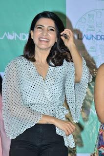 Samantha Akkineni Photos at Laundry Kart App Launch
