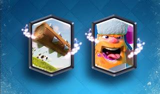 Kartu Legendary Baru Clash Royale The Log dan Lumberjack