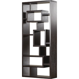 Design rak lemari buku minimalis model 4