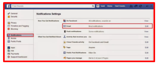 How to unsubscribe to facebook account