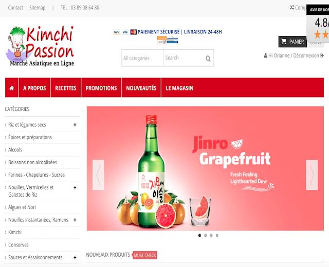 Kimchi Passion : Le site de Korean food le plus complet en France