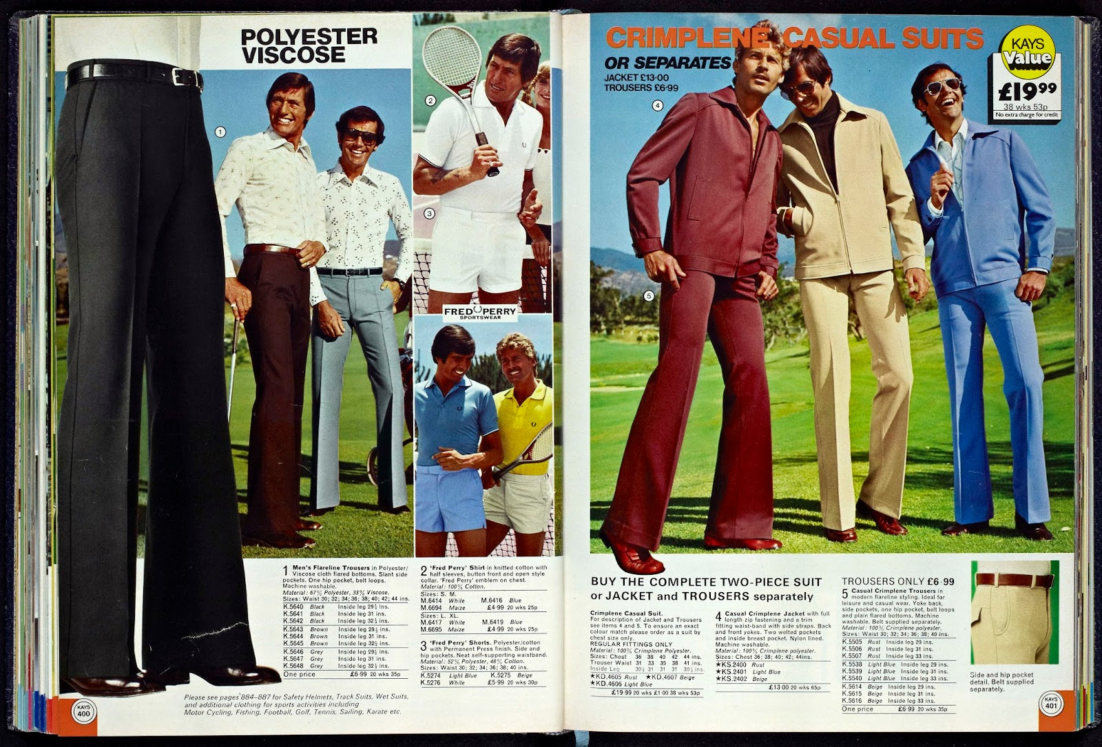 Kays Catalogue Menswear From 1977 Vintage Everyday