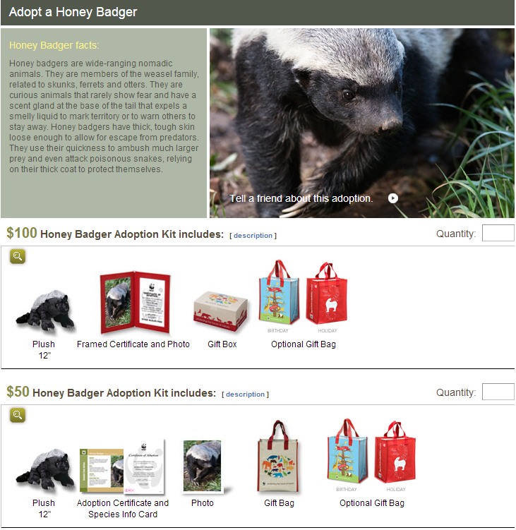 Need a holiday gift idea.? Give a stocking full of Honey Badger.