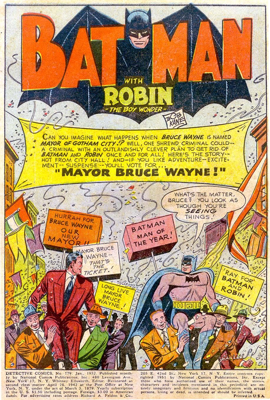Read online Detective Comics (1937) comic -  Issue #179 - 3