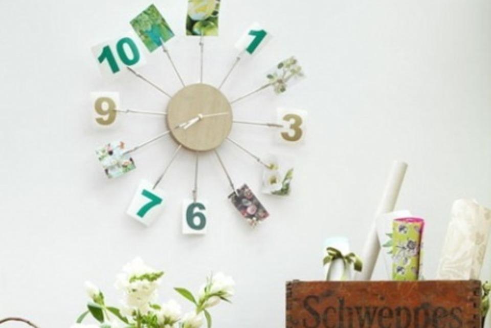 758cce9f0a Φτιάξτε μόνοι ένα ρολόι τοίχου για να διακοσμήσετε το χώρο σας. Σαφώς