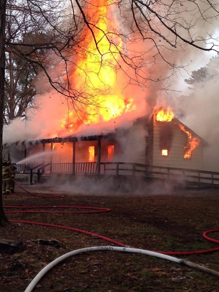 ELKMONT ALABAMA: ELKMONT HOUSE FIRE