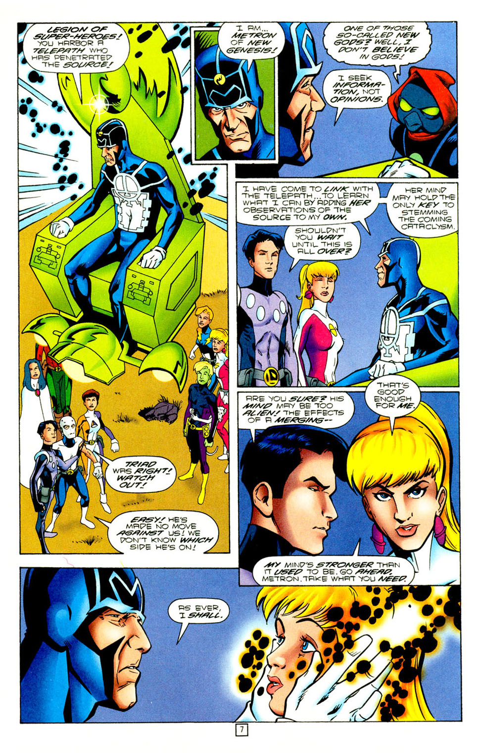 Legion of Super-Heroes (1989) 97 Page 6