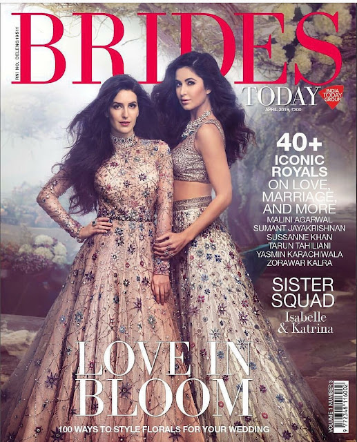 Katrina Kaif and Isa Kaif Sizzles on Brides Today April 2018 Issue