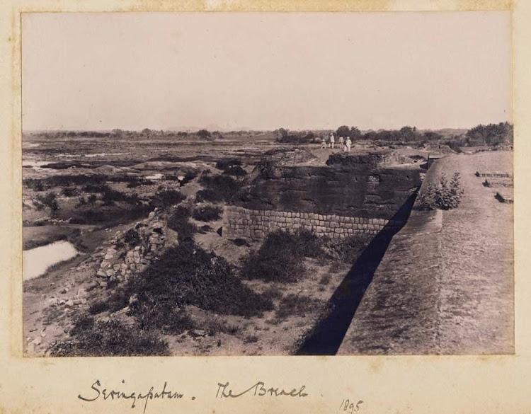The Breach, Seringapatam, Karnataka - 1895