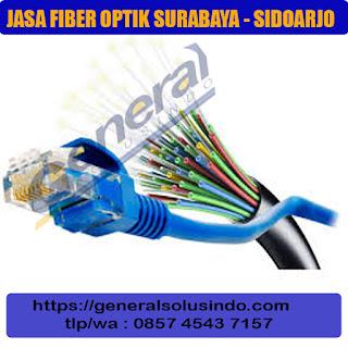 jasa fiber optic surabaya jawa timur - murah