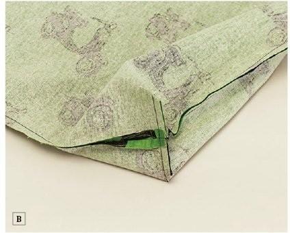 Folding Shopping Bag and Pouch  DIY Tutorial Pattern ~ DIY