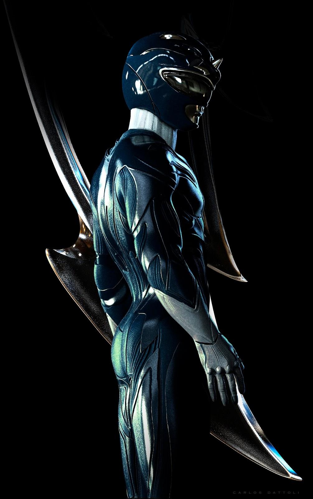 Carlos Dattoli Blue Power Ranger