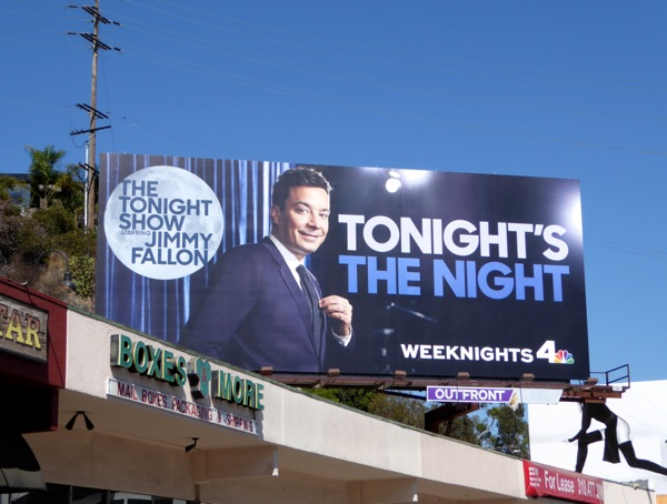 Tonight's the night Jimmy Fallon talkshow 2015 billboard