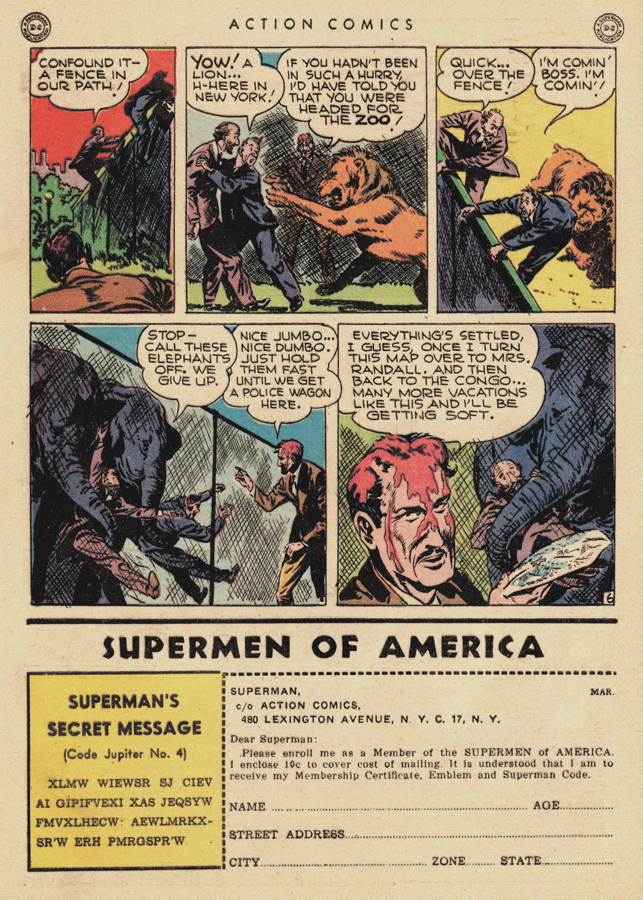 Read online Action Comics (1938) comic -  Issue #94 - 40