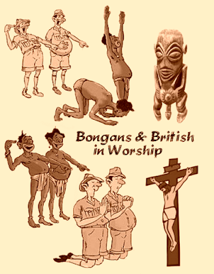 bongan and british worshipers